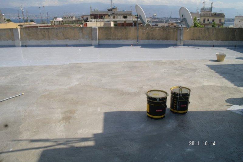 Impermeabilizzazione terrazze e balconi luxor building - Impermeabilizzazione terrazze pavimentate ...